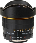 Объектив Vivitar MF 8mm F/3.5 CS Fisheye APS-C для Nikon